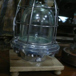 Pair Ship Lamps