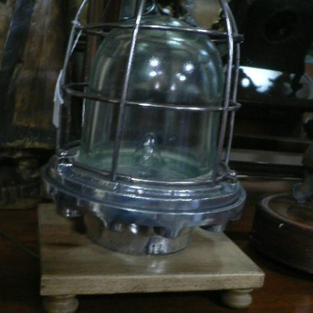 Pair Ship Lamps