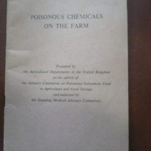 Poisonous Chemicals on the Farm