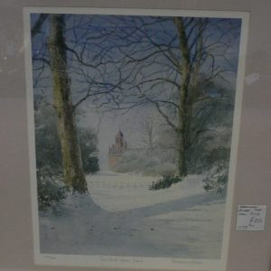 Limited Edition Print by Rosemary Stubbs, The Clockhouse Keele