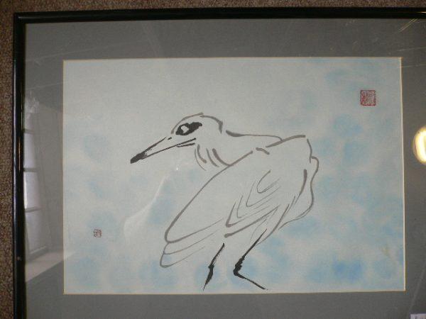 Oriental bird Painting