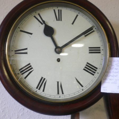 8 Day Verge Clock