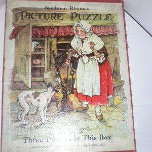Vintage Jigsaw Trio