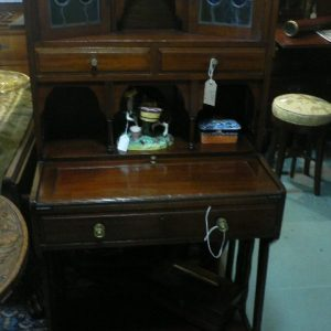 Arts & Crafts Mahogany Bureau