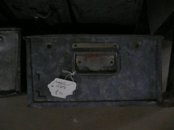 Vintage Industrial tote Pans