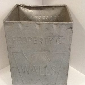 Vintage Galvanised Walls Ice Cream Box