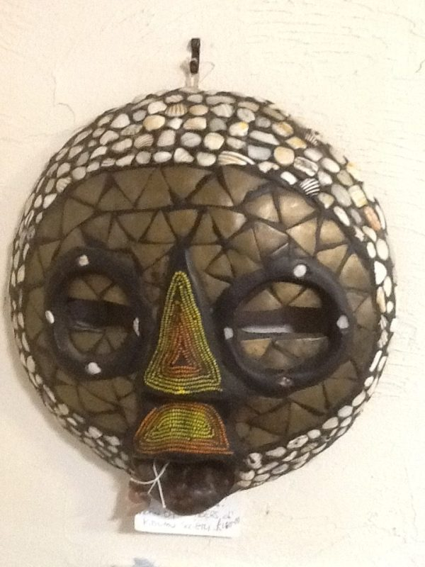 Kidumu Society Funeral Mask