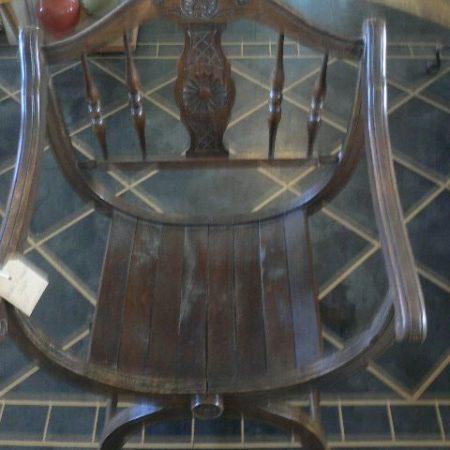 X Framed Chair