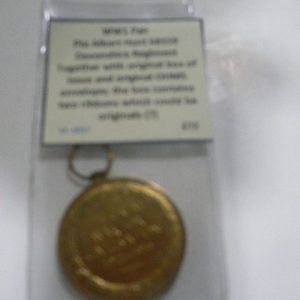 Pte Albert Hunt 68359 pair medals