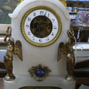 French Empire style clock