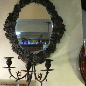 Mirror & Candelabra