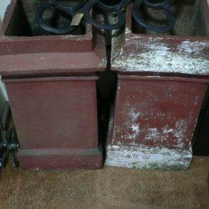 Pair Chimney Pots