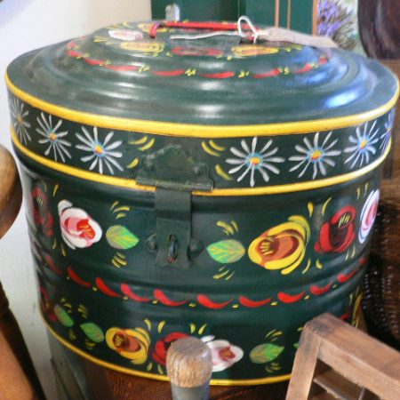 Vintage Painted box