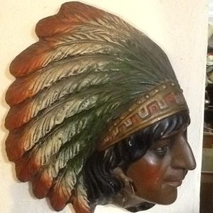 Pottery Native American Chief