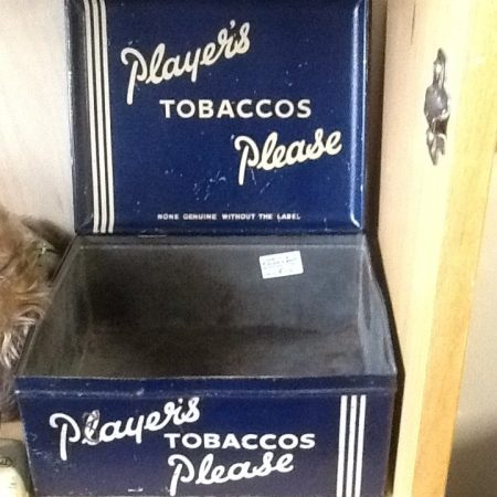 Players Shop Display Tin