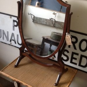 Shield shaped Dressing Table Mirror