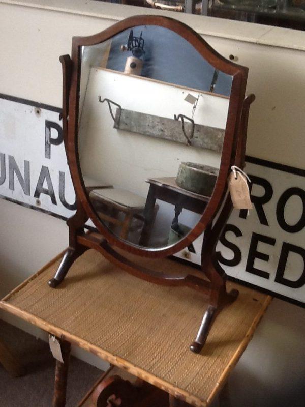 Shield shaped Dressing Table Mirror