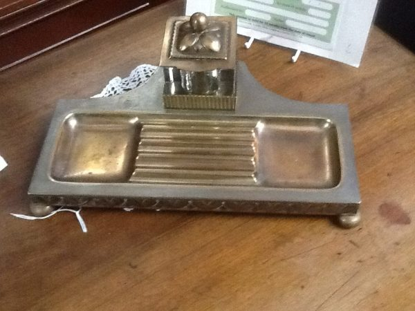 Early 20c Inkstand