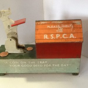 RSPCA Charity Box