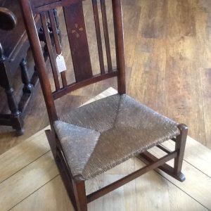 Inlaid Rocking Chair